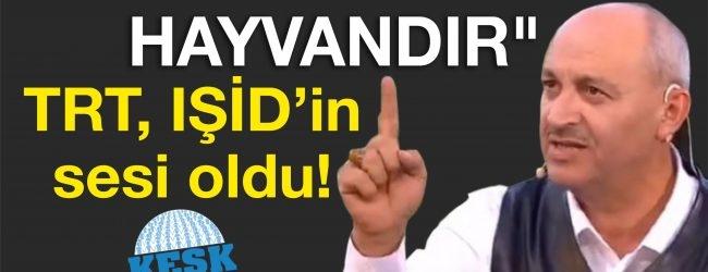 HABER SEN:TRT,İŞİD'İN SESİ OLDU !