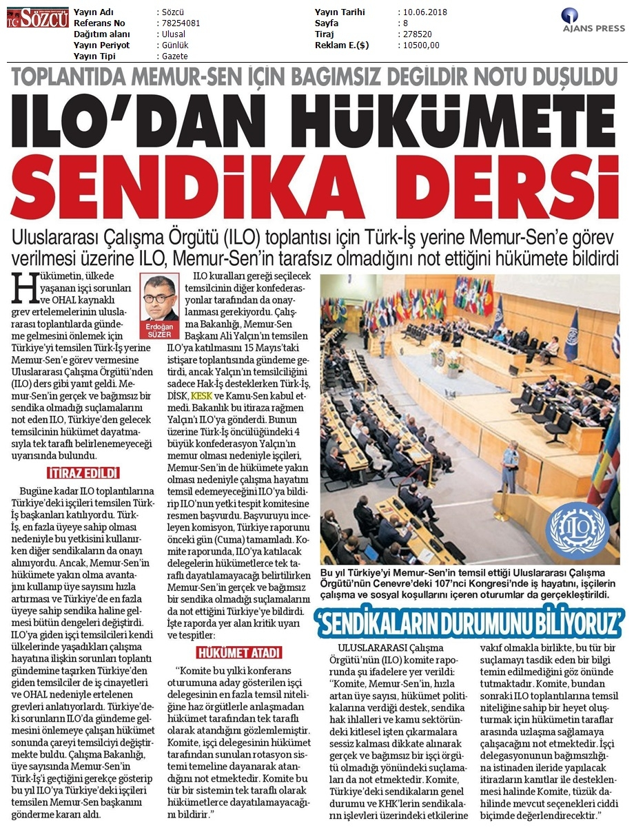 DT KOORDİNASYON TOPLANTISINA KATILIM