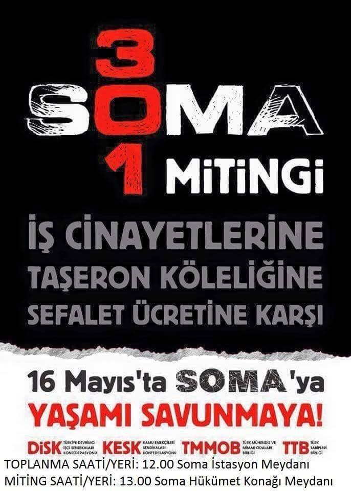 Soma'yı Unutmadık, Unutturmayacağız!