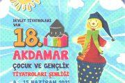 18. Van Akdamar Çocuk ve Gençlik Tiyatroları Şenliği başlıyor